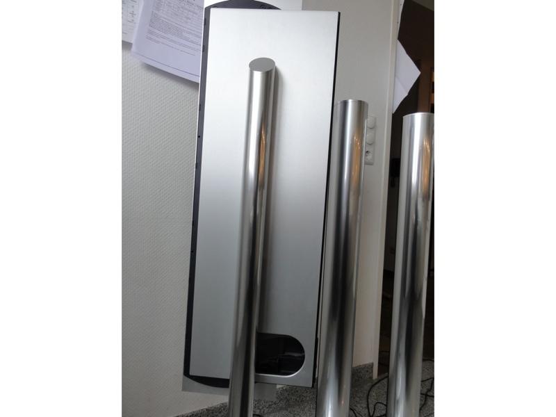 bang olufsen beosound 9000 mit 4x beolab 6000 und stand ebay. Black Bedroom Furniture Sets. Home Design Ideas